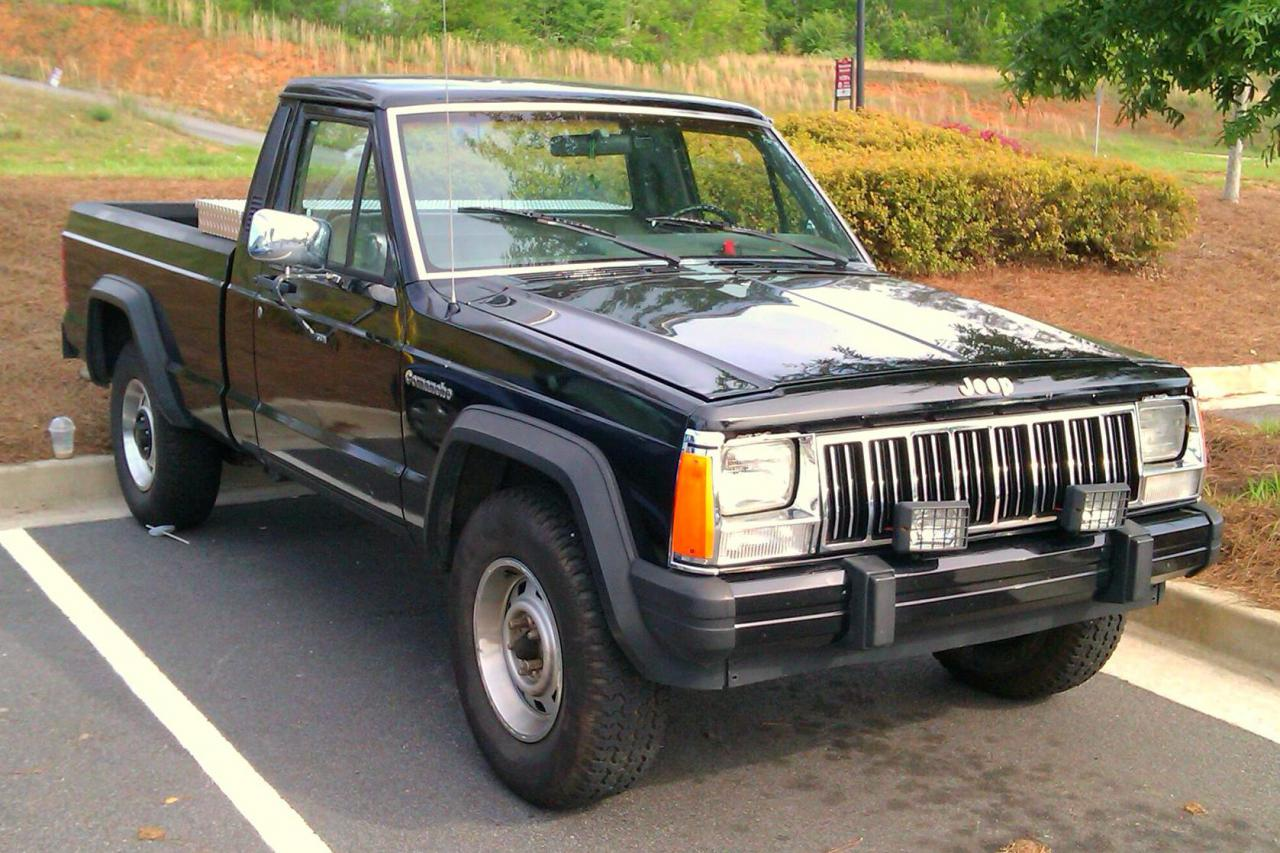 Jeep Comanche (MJ) for Spin Tires